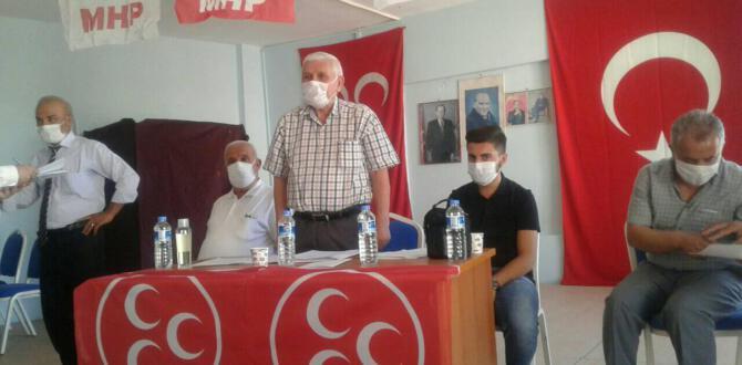 TUT MHP İLCE BASKANİ KILAVUZ, GUVEN TAZELEDİ