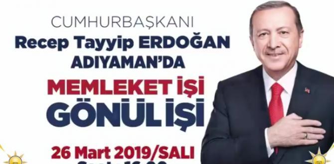 AK PARTİ'DEN MİTİNGE DAVET
