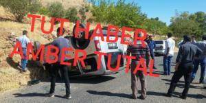 TUT'DA TRAFİK KAZASI