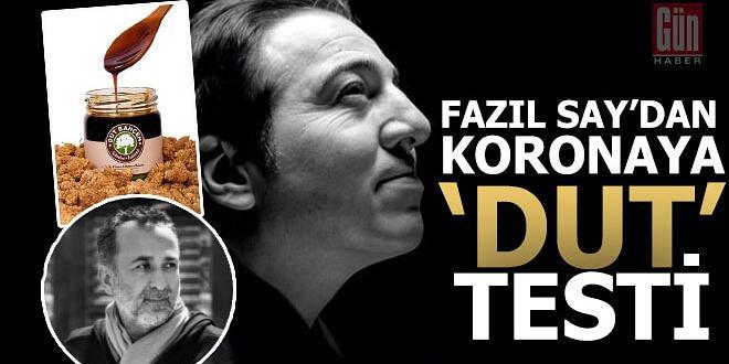 """FAZİL SAY KORANA KORKUSUNU """"DUT"""" TESTİYLE YENDİ"""