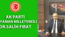 SALİH FIRAT'TAN 8 MART MESAJI