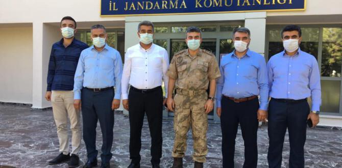 MÜSİAD'dan Alay Komutanı Bilgihan Yeşilyurt'a Hayırlı Olsun Ziyareti